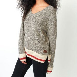 Roots Cotton Cabin V Neck Sweater